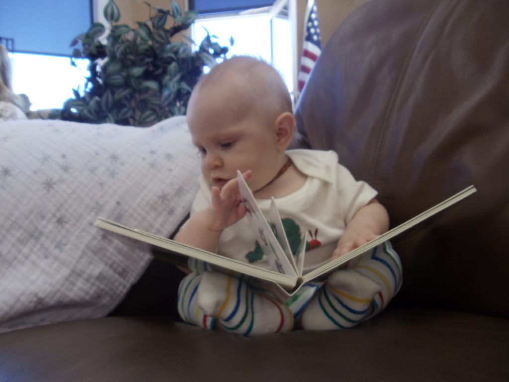 Babies love books, too!