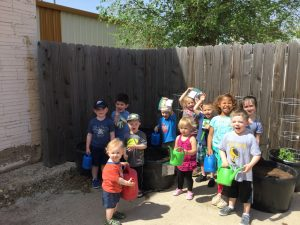 May Day Gardening for Children's Story Time